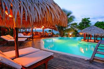 Piscine Hôtel Antsanitia près de Majunga à Madagascar