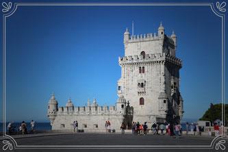 Ecco Lisbona con la Torre di Belem
