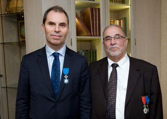 Bruno Abd al-Haqq Ismaïl Guiderdoni, Directeur de l'Institut des Hautes Etudes Islamiques et Kamel Kabtane, Recteur de la Grande Mosquée de Lyon
