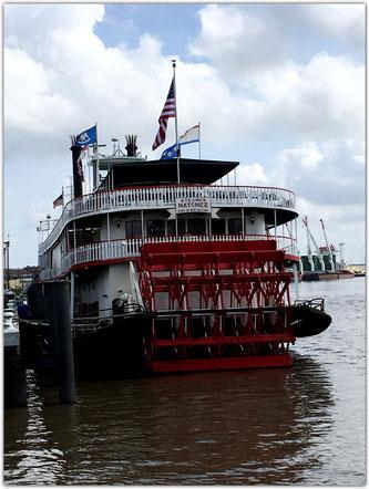 Schaufelraddampfer Natches New Orleans NOLA Louisiana