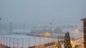 San Martín totalmente cubierto de nieve. Foto: www.aiaraldea.eus