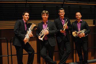 Prestige Brass Quartet, concert, Week-ends musicaux, Festival de Chaillol