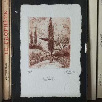 La Petite Ourse, Gérard Pons, gravure, Epreuve d'artiste