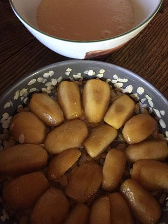 Recette, Gâteau aux pommes des vendangeurs, Joël Robuchon
