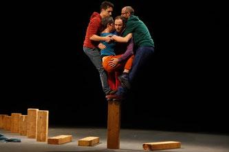 Théâtre La Passerelle, Le Gros Sabordage, Spectacle, Cirque