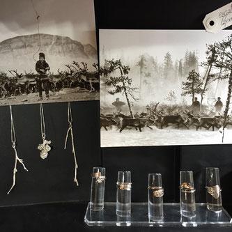 100 escales, bijoux, artisanat, Laponie suédoise, boutique en ligne