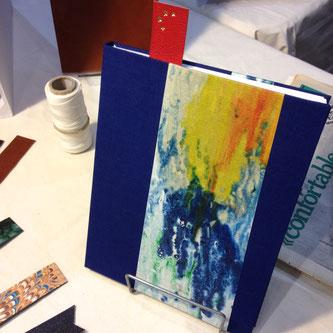 L'artisan Relieure, Marlène Bevilacqua, Journées Européennes des Métiers d'Art
