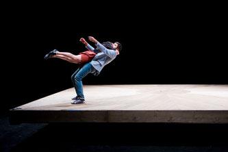 Cirque, spectacle, Celui qui tombe, La Passerelle, Gap