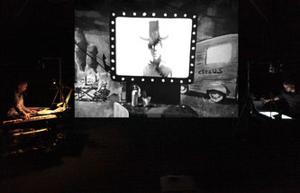 Théâtre La Passerelle, Dark Circus, Stéréoptik, concert dessiné
