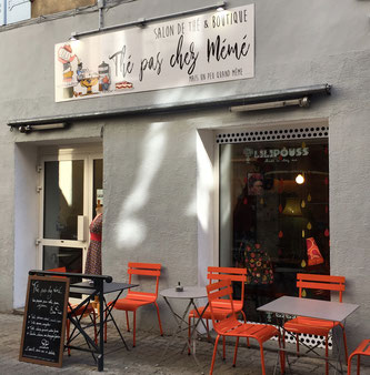 Thé pas chez Mémé, salon de thé, boutique, Gap, Hautes-Alpes