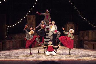 Théâtre La Passerelle, spectacle, Les Encombrants font leur cirque, Théâtre La Licorne