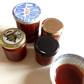 Confiture, cynorrhodon, gratte-cul, homemade, doityourself