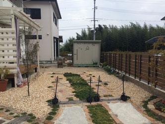 かわいい庭 庭づくり ガーデン 外構