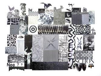 Leben ist überALL (Trojanisches Pferd) 2016, Acryl auf Leinwand 40 x 40 cm