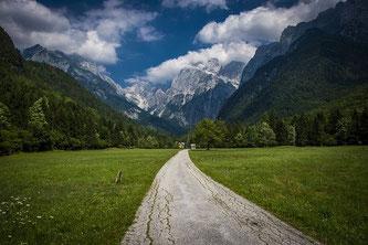 Straße Berge Alpen