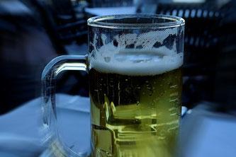 Bier Glas Radler Lokal Getränk