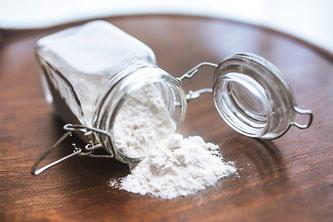 Weißes Pulver