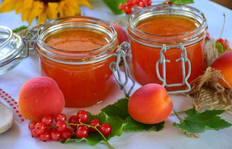 Marillen Marmelade süß