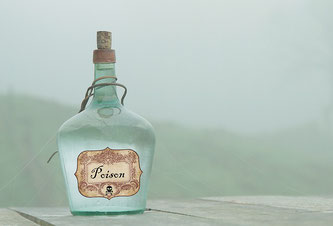 Gift Flasche