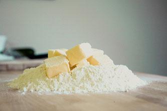 Butter Mehl Küche
