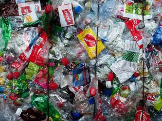 Kunstoffabfälle Plastik