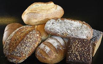 Brot verschiedene Sorten