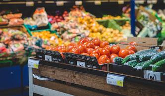 Supermarkt Gemüse