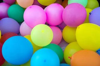 Luftballons bunt