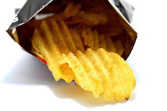 Chips Verpackung fettig