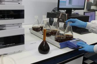 Labor mit Proben