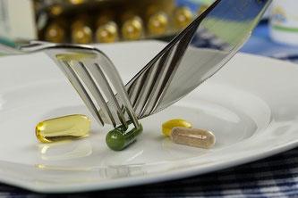 Tabletten Pillen Nahrungsergänzungsmittel