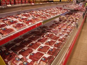 Fleisch Supermarkt