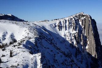 Alberfeldkogel Schnee