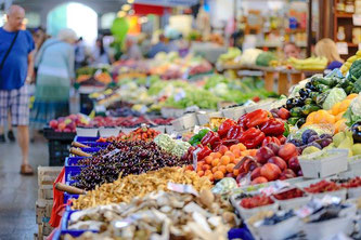 Supermarkt Handel Einkauf