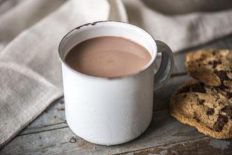 Kakao trinken Kekse