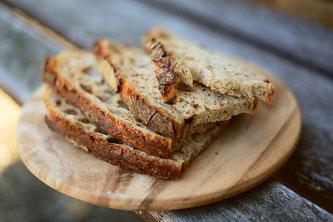 Brotscheiben Brotkruste