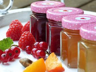 Marmeladen Konfitüren Früchte