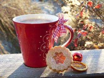 Weihnachten Punsch Keks