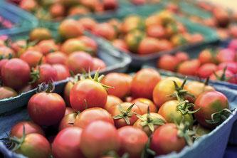 Tomaten in Schalen