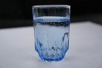 Glas Sodawasser
