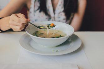 Suppe essen