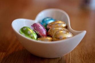 Ostereier Schokolade