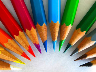 Farbstifte Bunt