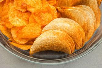 Chips Teller essen