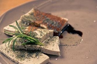 Tofu gebraten