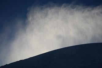 Schnee Luft