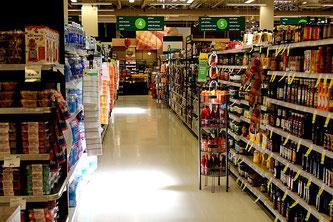 Supermarkt Einzelhandel