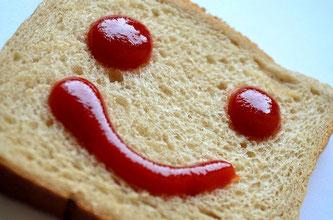 Ketchup Brot Smily