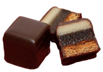 Süßigkeit Dominosteine