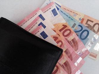 Geld Geldbörse